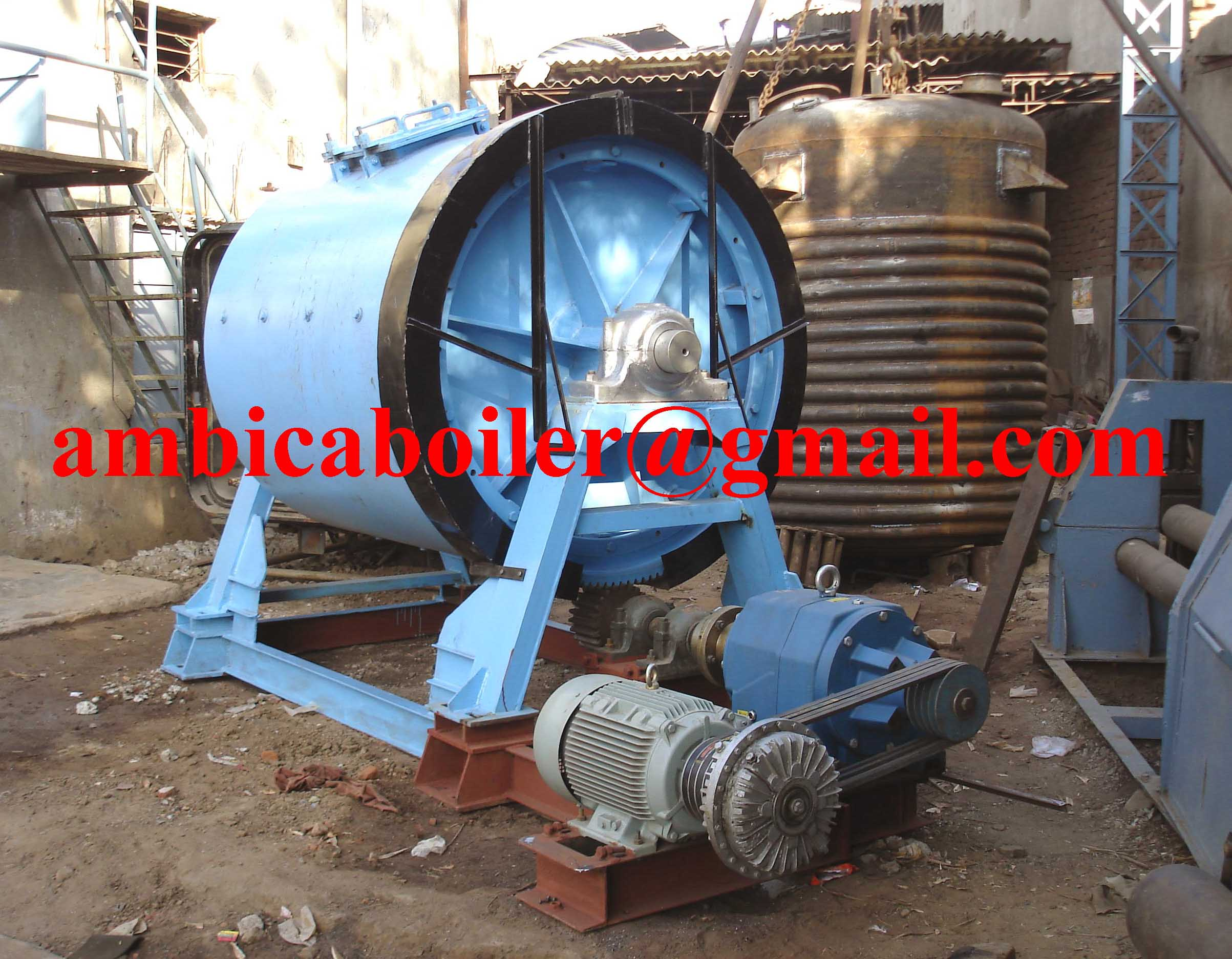 Paint manufacturing machinery